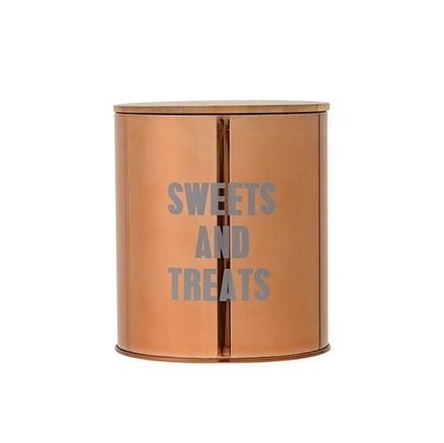 Sweets and Treats Canister with Wooden Lid *Pick up only*