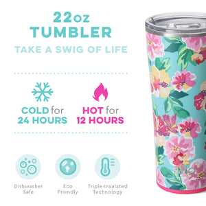 Load image into Gallery viewer, Swig 22oz Tumbler - Island Bloom