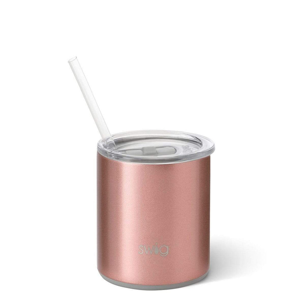 Swig 12oz Low Ball - Rose Gold