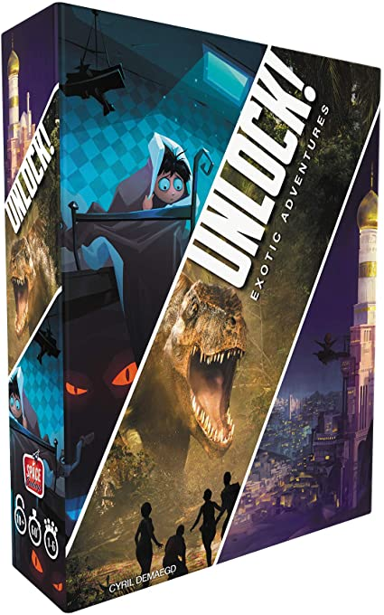 Unlock! Exotic Adventures Three-Scenario Box