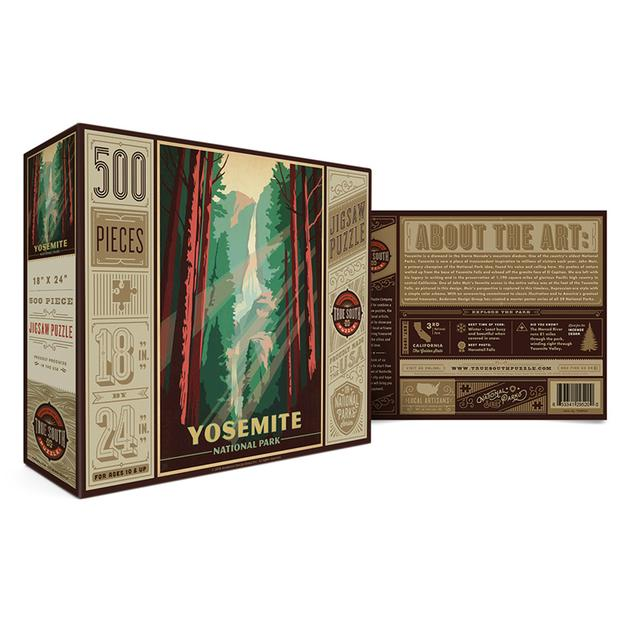 True South Yosemite 500 Piece Puzzle