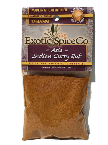 Asia-India Curry Rub 1.4 oz (39.69g)