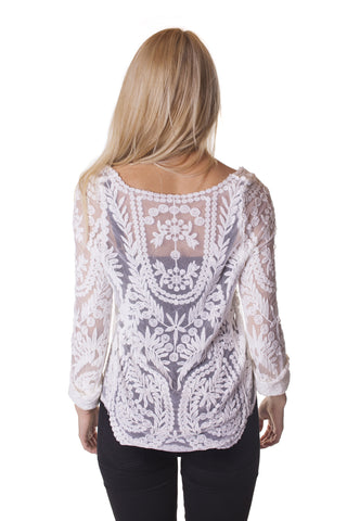 Embroidery Bluse