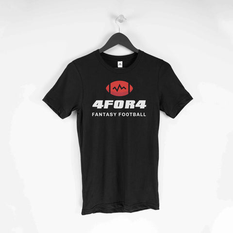 Black 4for4 T-Shirt