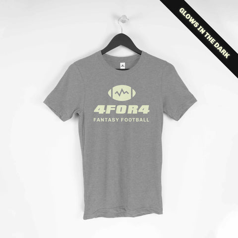 Gray Glow in the Dark 4for4 T-Shirt