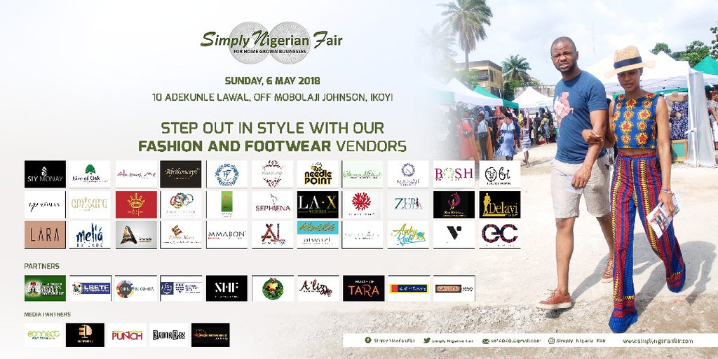 Koélé & Atwazi will be at the Simply Nigerian Fair.