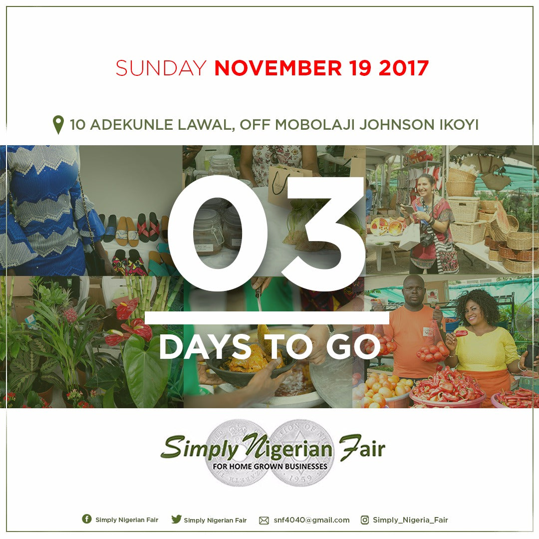 Where Will You Be On Sunday, November 19th? Please Join Koele And Atwazi And Over 90 0thers Vendors At The Simply Nigerian Fair.