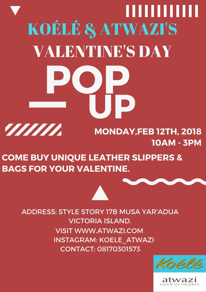 Koélé & Atwazi Valentines Day Pop Up.