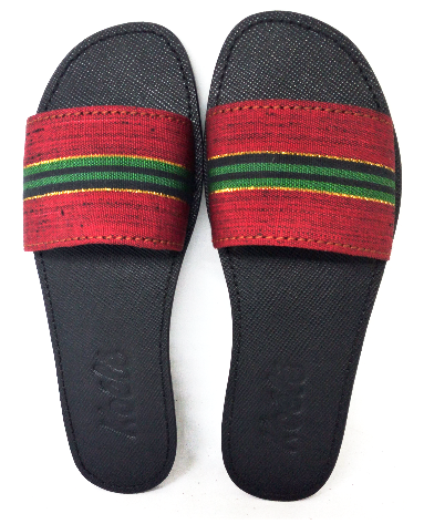TRICIA (RED_GREEN ASO OKE/BLACK)