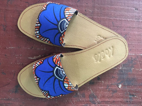 TRICIA (BLUE ANKARA/TAN)