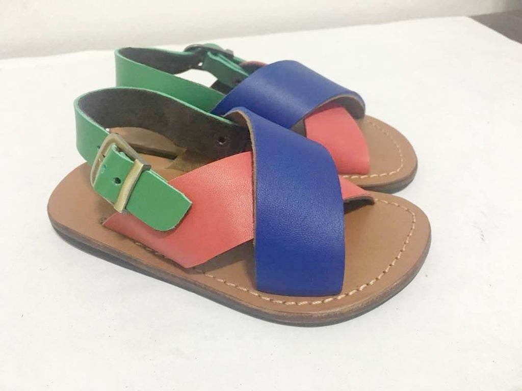 YVONNE KIDS SANDALS (MULTIPLE COLOR/TAN)