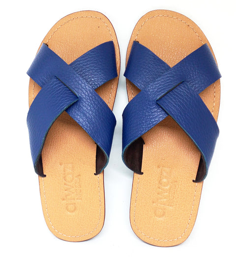 INNER CROSS KIDS (BLUE/TAN)
