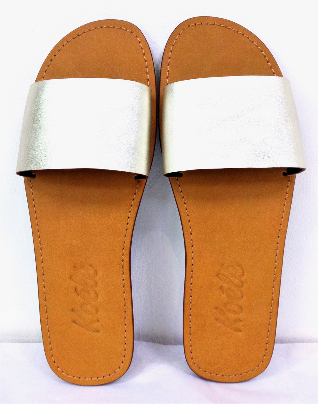 TRICIA (WHITE GOLD/TAN)
