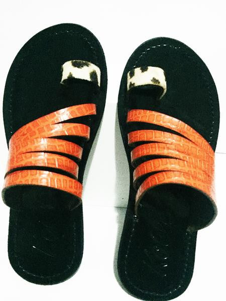RAMA KIDS (ORANGE/BLACK)