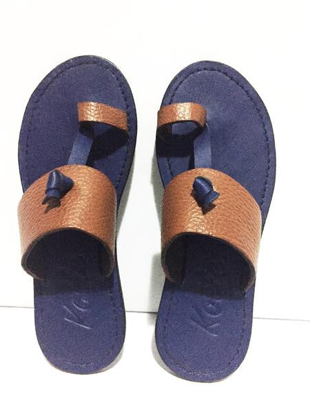 LULU KIDS (BROWN/BLUE)