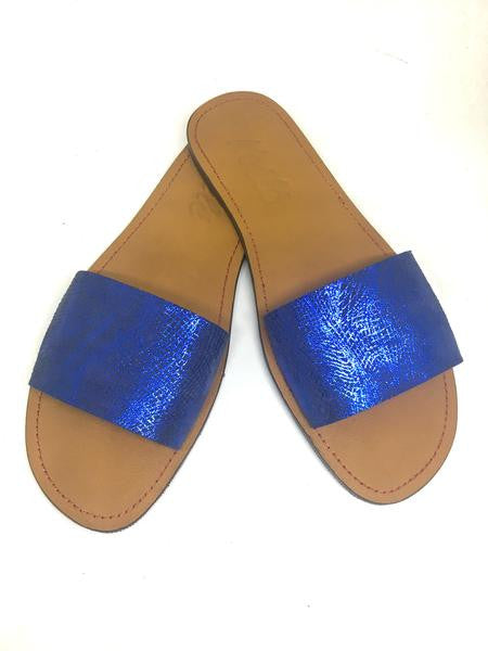TRICIA (BLUE SEQUENCE/TAN)