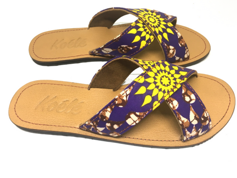 CROSS (PURPLE ANKARA/TAN)