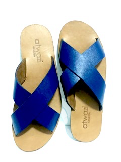 CROSS (NAVY BLUE/TAN)