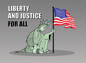 Liberty and Justice For All Magnet