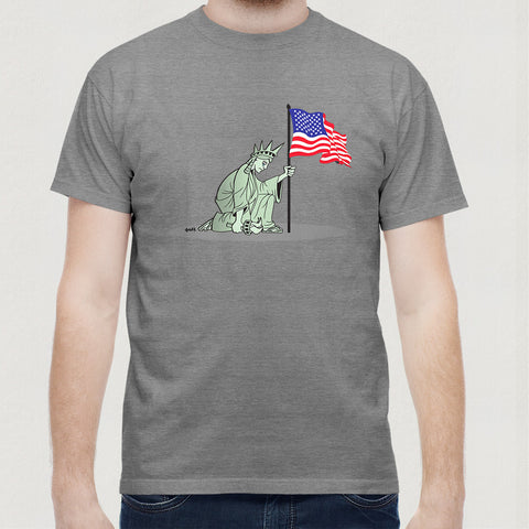 Kneeling Liberty T-Shirt