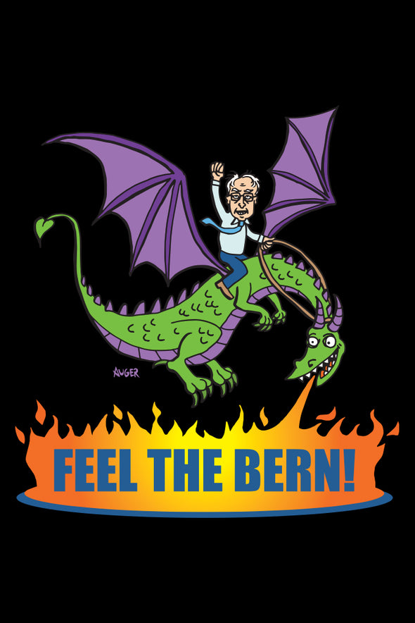 Feel the Bern - Postcard