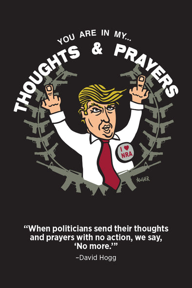 Thoughts & Prayers Postcards