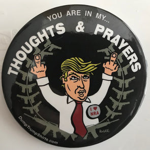 Thoughts & Prayers Button