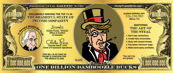 Trump Money Billion Bucks