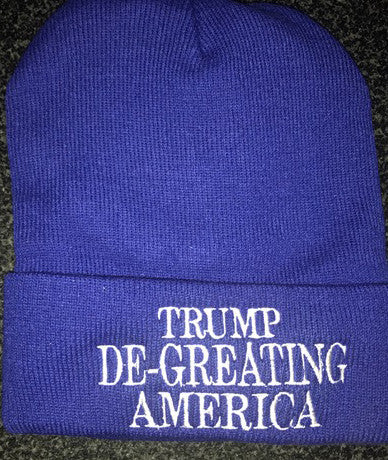 Trump De-Greating America Winter Hat