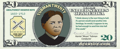 Harriet Tubman $20 Bill