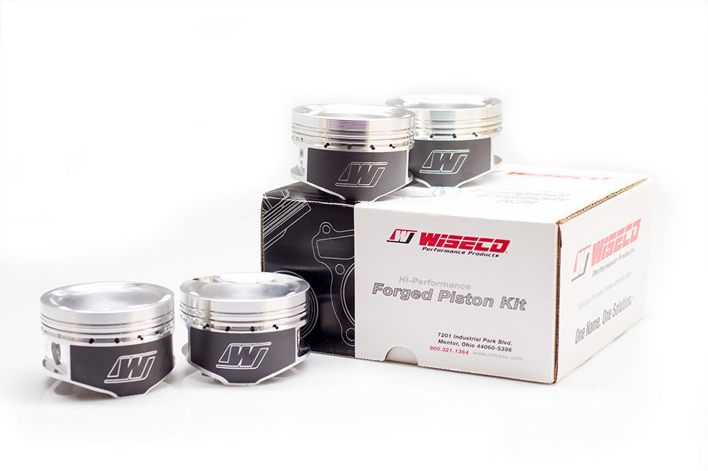 Wiseco 87mm 8.4:1 H22 Forged Piston Set