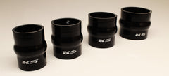 KS Tuned Black Silicone Hump Hose Coupler 2.50""