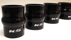 KS Tuned Black Silicone Hump Hose Coupler 3.00""