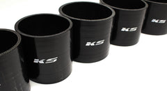 KS Tuned Black Silicone Coupler 4.00""