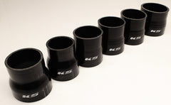 "KS Tuned Black Silicone Reducer Coupler 2.50""-2.00"""