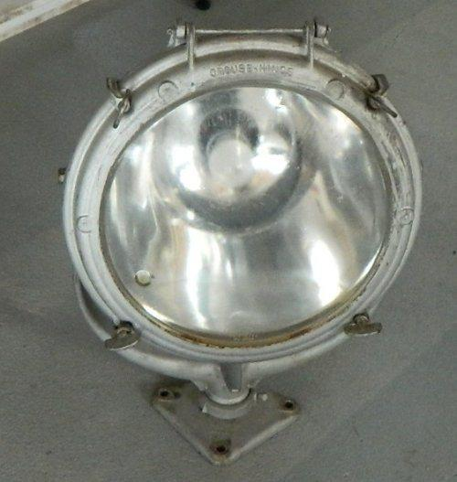 1422 Deck Light  From A Freighter
