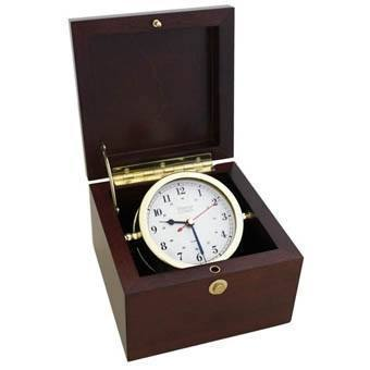 Nautical Gifts,Retirement Gifts - 780600 Square Box Alarm Clock