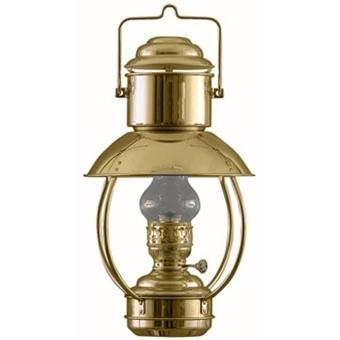 "Brass Nautical Lights - 8201/O Weems & Plath Oil Trawler Lamp - Large (17"")"