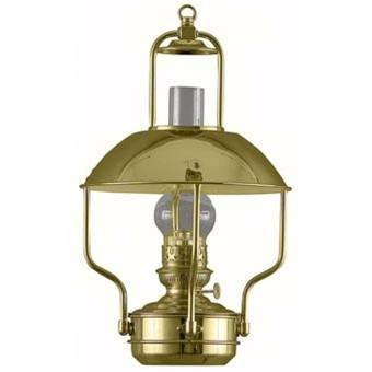 Brass Oil Lamps - 8207 Weems & Plath Clipper Oil Lamp