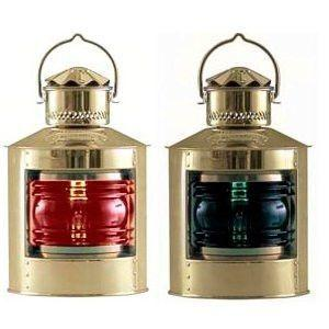 Nautical Gifts - 8311 Port & Starboard Light Set Made By Den Haan