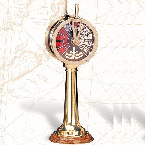 "ST 102  14"" Ship's Telegraph, Reproduction - Jonesport Nautical Gifts"