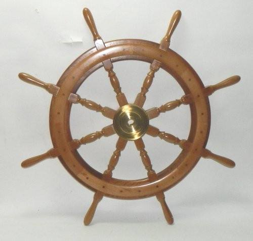 "Ship's Wheels - 36"" Deluxe Ship's Wheel - SW 110"