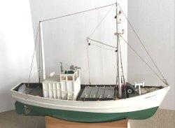 "Nautical Decor - 1480 Boat Model Of Sardine Carrier ""Francis G."""