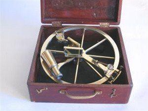 Nautical Gifts - 1080 - Brass Circle Sextant