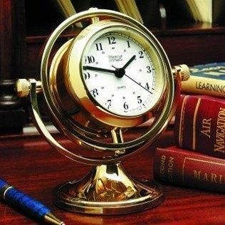 Nautical Gifts - 300800  Skipjack Clock & Barometer From Weems &  Plath