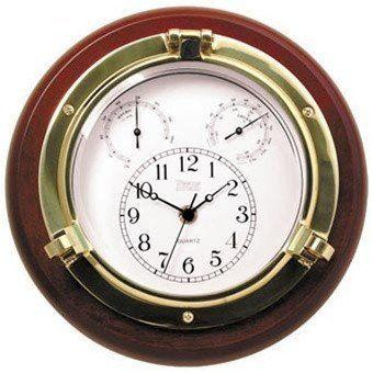 Nautical Gifts - 313100  Porthole Clk/Thermo/Hygro
