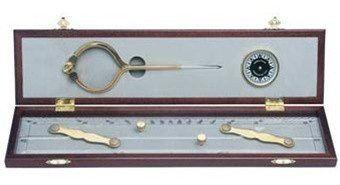 Nautical Gifts - 319 Elegant Navigation Set from Weems and Plath