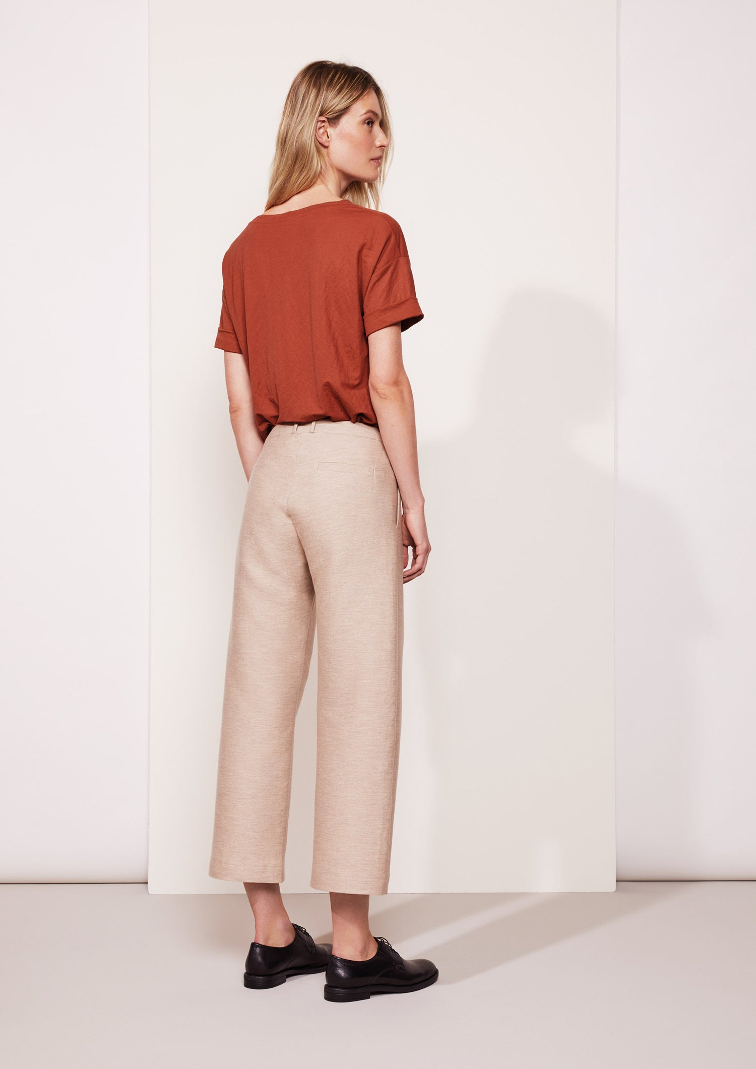Top Tommie viscose jersey terracotta