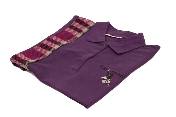 Equestrian Tweed Polo Shirt - Tori Allen