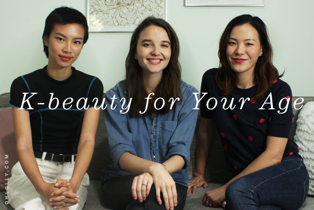 K-Beauty Essentials for Your Age